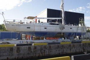 Oyster 825 Major Keel Failure