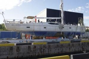 Oyster 825 Major Keel Failure