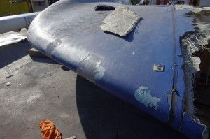 Oyster 825 Recovery of keel - Part attached to stub keel